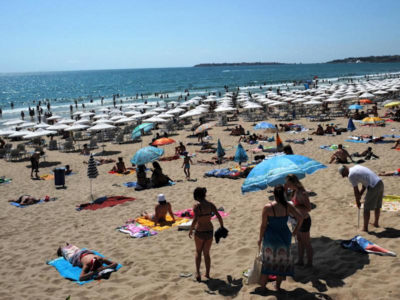 Sunny Beach is Bulgaria's biggest seaside resort (AFP)
