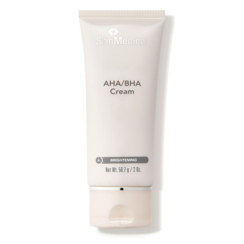 """<p><strong>SkinMedica</strong></p><p>dermstore.com</p><p><strong>$44.00</strong></p><p><a href=""""https://go.redirectingat.com?id=74968X1596630&url=https%3A%2F%2Fwww.dermstore.com%2Fproduct_AHABHA%2BCream_2740.htm&sref=https%3A%2F%2Fwww.oprahdaily.com%2Fbeauty%2Fg36792186%2Fbest-products-for-acne-scars%2F"""" rel=""""nofollow noopener"""" target=""""_blank"""" data-ylk=""""slk:Shop Now"""" class=""""link rapid-noclick-resp"""">Shop Now</a></p><p>""""This cream exfoliates the skin to remove dead skin cells and improve texture,"""" says Russak. """"It also brightens skin, which is a great way to address the hyperpigmentation aspect of acne scarring, while decreasing the inflammation that contributes to acne and cleaning out pores.""""</p>"""
