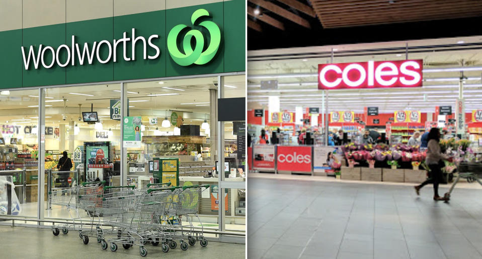 Two Woolworths stores and a Coles supermarket in Zetland have been added to the growing list of exposure sites. Source: AAP/Google Maps