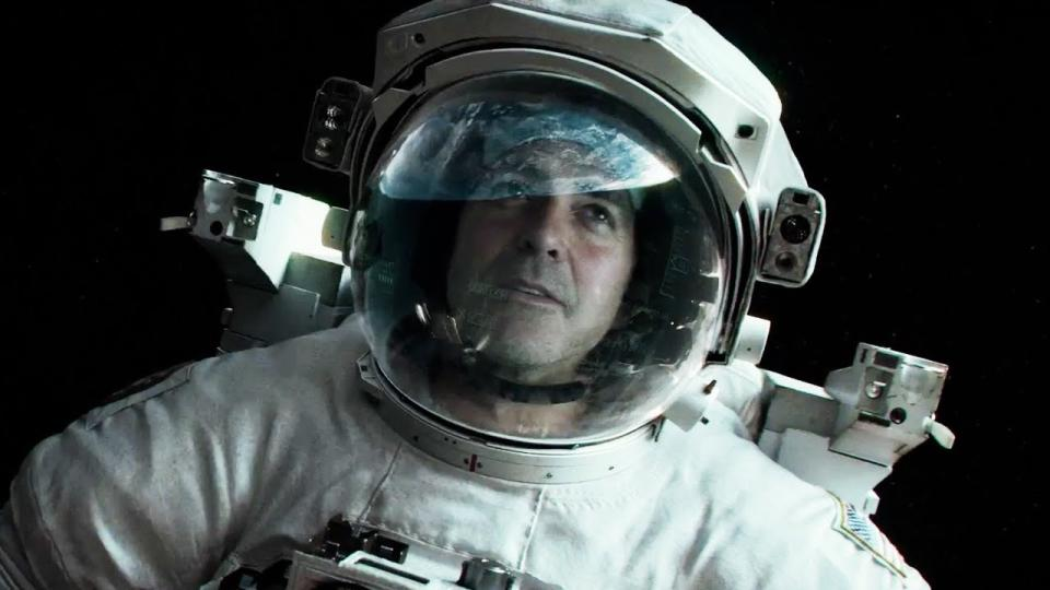 George Clooney in Gravity (Warner Bros)