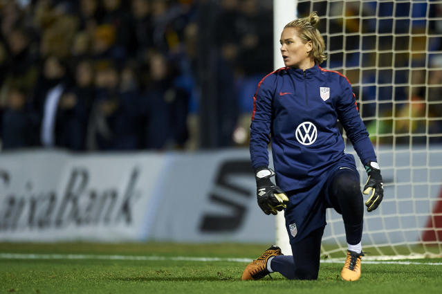 a72e9819570 She s a perennial backup for this team – first under Hope Solo and now  under Naeher