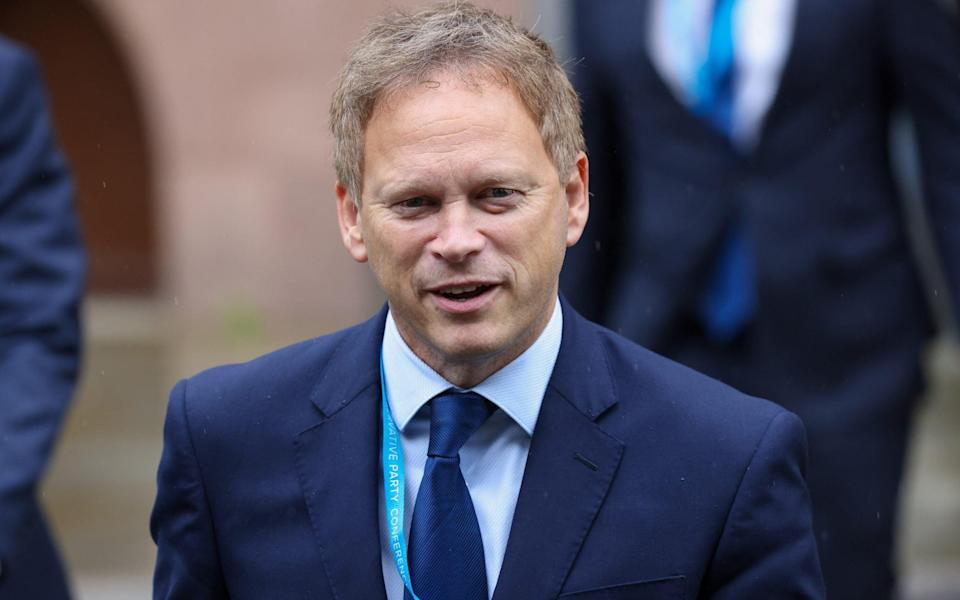 Grant Shapps, the Transport Secretary, opposes the cut, placing him at odds with Rishi Sunak - Bloomberg