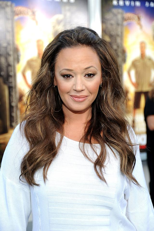 "LOS ANGELES, CA - JULY 06:  Actress Leah Remini arrives at the Premiere of ""The Zookeeper"" at the Regency Village Theater, Westwood on July 6, 2011 in Los Angeles, California.  (Photo by Frazer Harrison/Getty Images)"