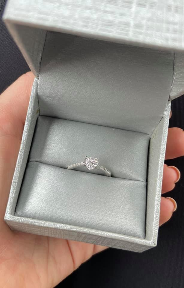 People changed their tune once Baylee revealed who gifted her the ring. Photo: Facebook (supplied).