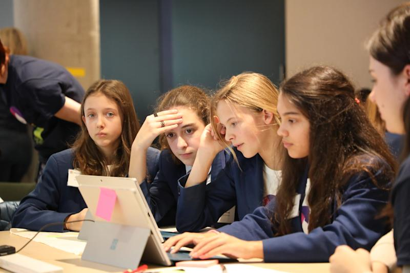 Microsoft has been holding Digigirlz workshops for more than 10 years (Microsoft )