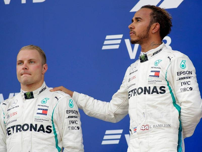 Valtteri Bottas is yet to win a race this season (AP)
