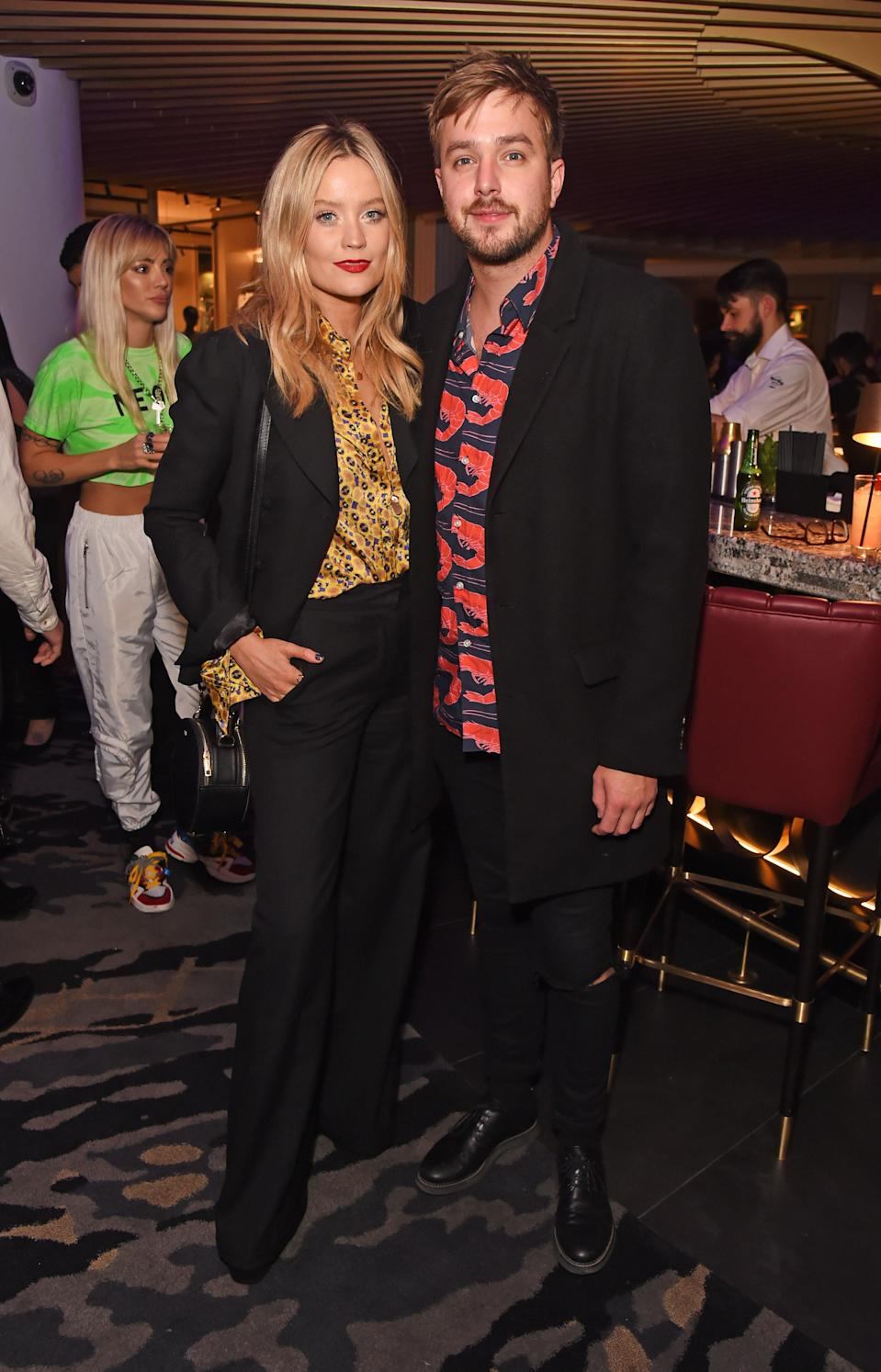 Iain pictured with his wife Laura Whitmore who also hosts the show (Dave Benett/Getty Images for Har)