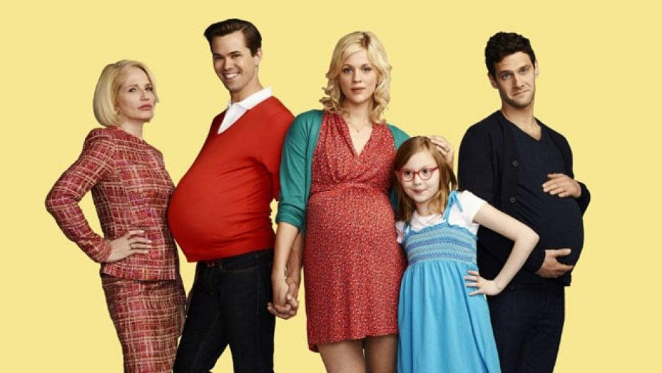 """<p>This is about as close as Murphy will ever get to a """"normal"""" sitcom (pun intended). The short-lived sitcom about an unconventional family - formed of a wealthy gay couple, their surrogate, her daughter, and her grandmother - was both sweet and biting at times, but never quite found its groove or its audience.</p>"""