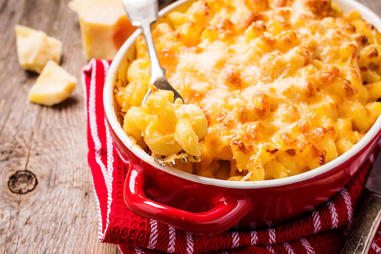 In the late 1700s, macaroni and cheese was considered fine dining (Photo: Getty)