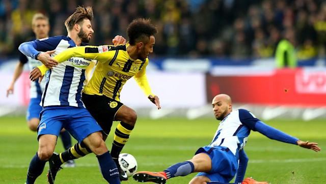 <p>No doubt about it; Arsenal should look to raid the world's top selling club for Pierre-Emerick Aubameyang if Alexis Sanchez jumps ship in the summer.</p> <br><p>The Gabon striker has developed into one of the world's most electrifying strikers, and is expected to become the subject of a bidding war once the current season concludes.</p> <br><p>Arsenal might need to get in there quick to seal the deal for him - the hitman has fired 23 league goals so far this season, two more than Bayern Munich's Robert Lewandowski, which is saying something.</p> <br><p>At 6ft 2in, Auba is strong and well-balanced and that combined with his blistering speed, arguably makes him even more dangerous than Sanchez.</p> <br><p>He has also been known to operate the flanks, so he's also pretty versatile in that respect, which can't do any harm. Alexis who?</p>