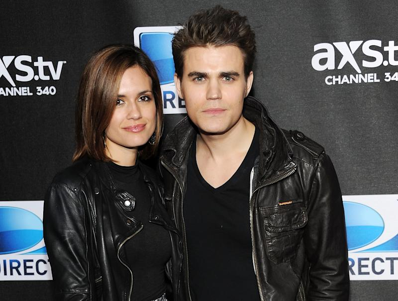 "FILE - This Feb. 2, 2013 file photo shows actors Paul Wesley, right, and his wife Torrey Devitto at DirecTV's Super Saturday Night party in New Orleans. Wesley, 31, who plays vampire Stefan Salvatore, is ending his marriage to wife Torrey DeVitto after two years of marriage. In a statement from DeVitto's publicist Mona Loring she said the couple ""decided to amicably split. They will continue to remain good friends."" (Photo: Evan Agostini/Invision/AP, File)"