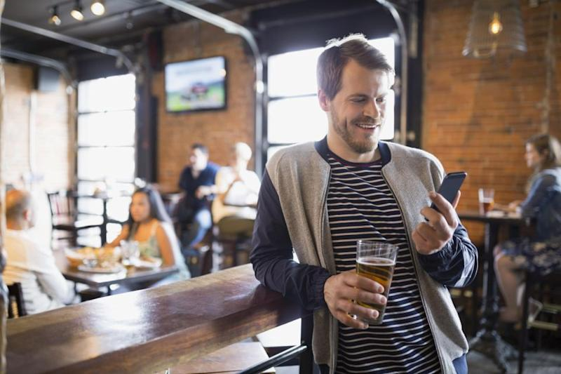Men instantly feel free after a break-up. Source: Getty