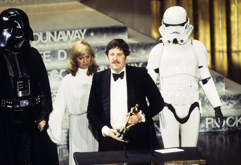 John Mollo at the 50th annual Academy Awards in 1978. (ABC Photo Archives via Getty Images)