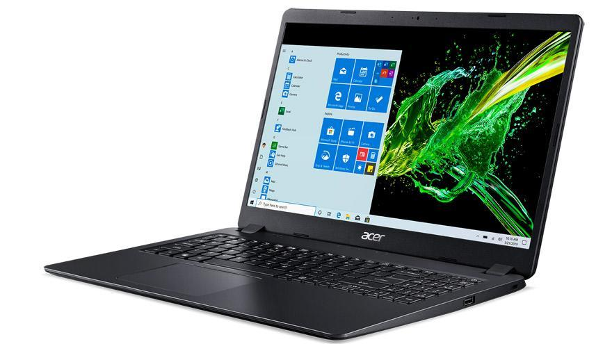 La Acer A315, delgada y equipada con Windows 10.