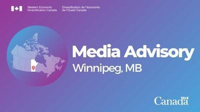 Government of Canada provides targeted support for business services in Manitoba (CNW Group/Western Economic Diversification Canada)
