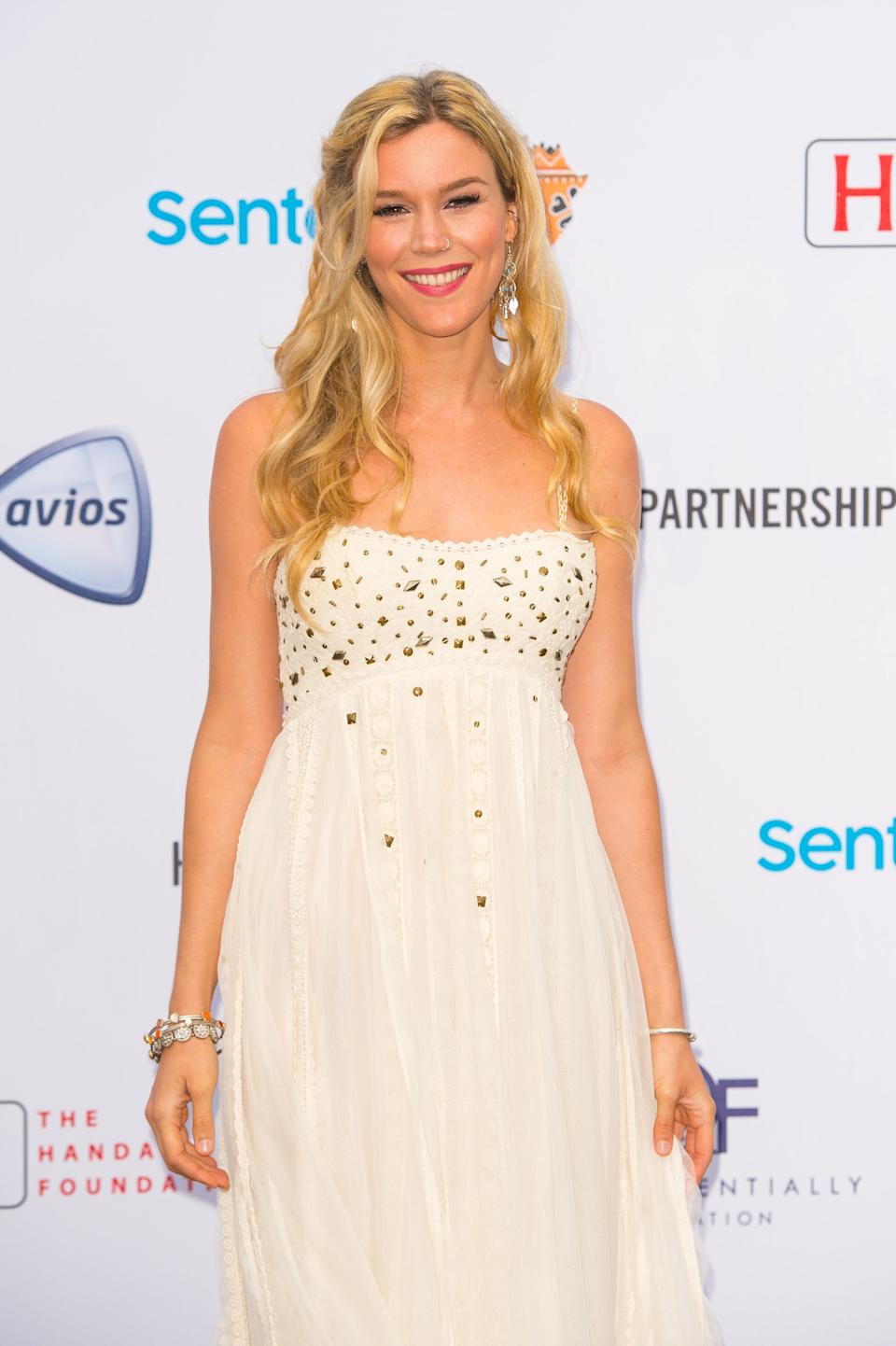 Joss Stone attending a concert hosted by Prince Harry's charity Sentebale in Kensington Palace Gardens, London, to raise awareness and funds for adolescents living with HIV in sub-Saharan Africa.