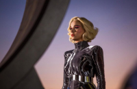 <p>Katy Perry is working futuristic vibes at the moment and it looks pretty darn cool. [Photo: Katy Perry/ Instagram] </p>