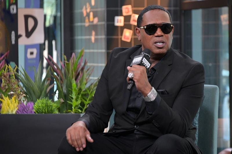 "NEW YORK, NEW YORK - JULY 09: Master P visits Build to discuss the movie ""I Got the Hook Up 2"" at Build Studio on July 09, 2019 in New York City. (Photo by Michael Loccisano/Getty Images)"