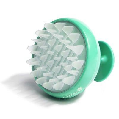 <p>Give yourself a mini in-shower spa treatment with the <span>Vitagoods Scalp Massaging Shampoo Brush</span> ($16). It's made with rubber tips that gently vibrate to massage and exfoliate your scalp as you cleanse with your favorite shampoo.</p>