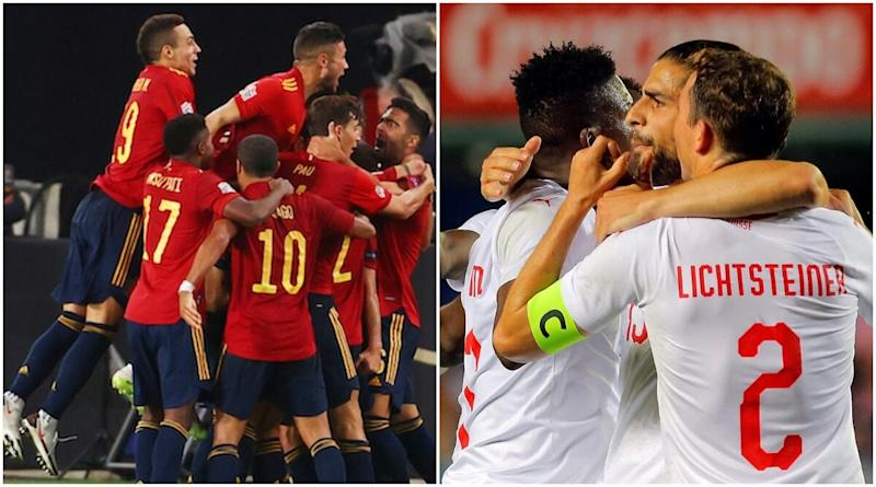 Spain vs Switzerland Live Streaming Online, UEFA Nations League 2020–21: Get Match Free Telecast Time in IST and TV Channels to Watch in India