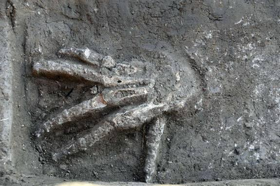 Severed Hands Discovered in Ancient Egypt Palace