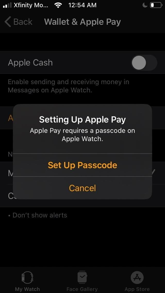 how to use apple pay watch4