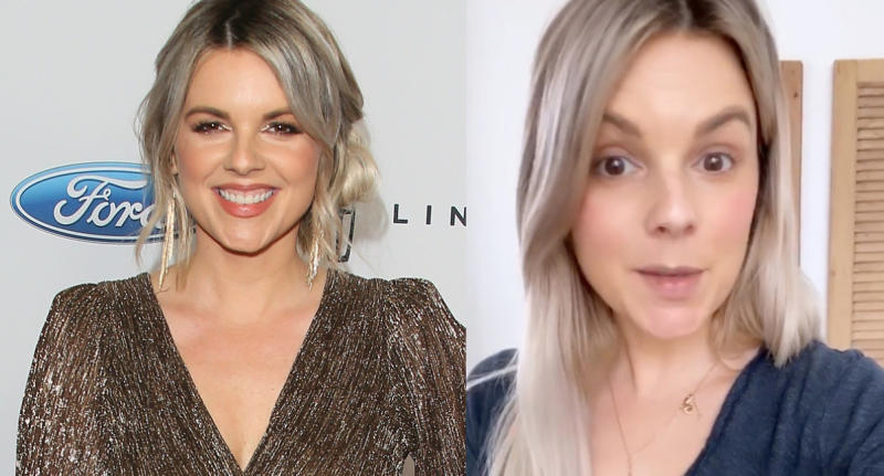 """Ali Fedotowsky-Manno, former star of """"The Bachelorette,"""" revealed she has been tested for coronavirus. (Images via Getty Images/Instagram)"""