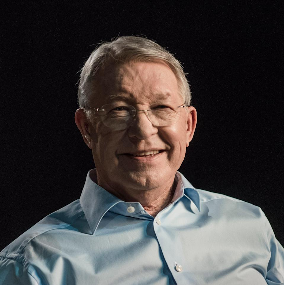 Sir Alex Ferguson is the subject of a new film Never Give In (Sean Pollock)