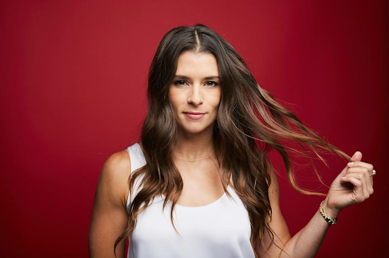 Danica Patrick confirms she's dating Aaron Rodgers. (Photo: Getty Images)
