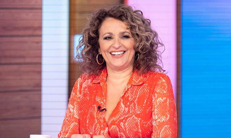 Nadia Sawalha has been a regular panellist on 'Loose Women' in 2013. (Credit: ITV)