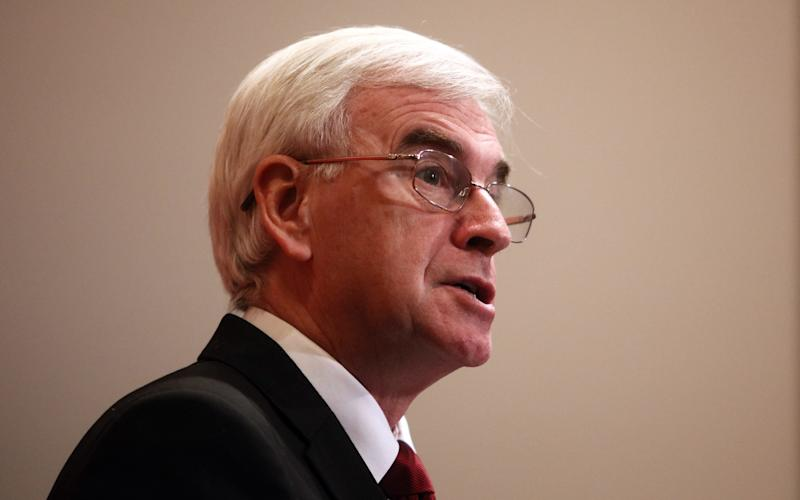 John McDonnell wants to see the wealthy's tax returns. - © 2016 Bloomberg Finance LP