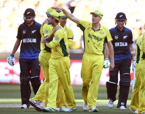 Aussies eye fifth World Cup as New Zealand dismissed for 183
