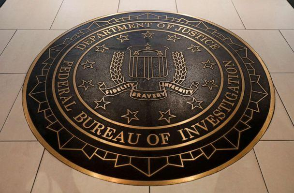 PHOTO: The Federal Bureau of Investigation seal is seen at FBI headquarters in Washington, D.C., June 14, 2018. (Yuri Gripas/Reuters, File)