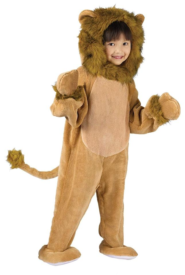 """<p>Roar! Your little one will stay nice and warm while trick-or-treating in this adorable <a href=""""https://www.popsugar.com/buy/Lion-Cub-Costume-507480?p_name=Lion%20Cub%20Costume&retailer=amazon.com&pid=507480&price=20&evar1=moms%3Aus&evar9=32267581&evar98=https%3A%2F%2Fwww.popsugar.com%2Ffamily%2Fphoto-gallery%2F32267581%2Fimage%2F32267607%2FLion-Cub&list1=amazon%2Challoween%2Cfall%2Challoween%20costumes%2Ckid%20shopping%2Challoween%20for%20kids%2Ckid%20halloween%20costumes&prop13=api&pdata=1"""" rel=""""nofollow"""" data-shoppable-link=""""1"""" target=""""_blank"""" class=""""ga-track"""" data-ga-category=""""Related"""" data-ga-label=""""https://www.amazon.com/Fun-World-Costumes-Toddler-Costume/dp/B002EDS1HA/ref=sr_1_3"""" data-ga-action=""""In-Line Links"""">Lion Cub Costume</a> ($20). </p>"""