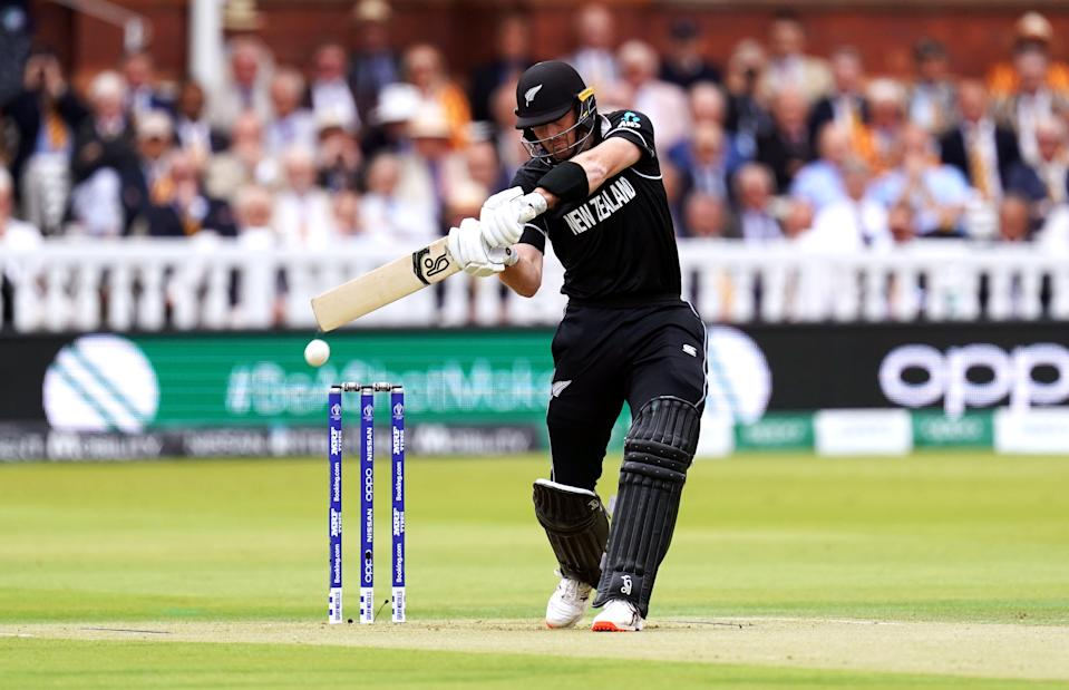 New Zealand's Martin Guptill during the ICC World Cup Final at Lord's, London. (Photo by John Walton/PA Images via Getty Images)