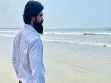 Yash shares photo from KGF Chapter: 2 shoot as he resumes work after COVID-19 lockdown