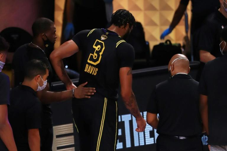 Lakers' Davis says he'll be ready for NBA Finals game six