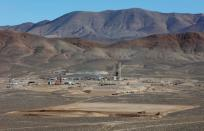 FILE PHOTO: Nevada Copper's Pumpkin Hollow copper mine in Yerington, Nevada