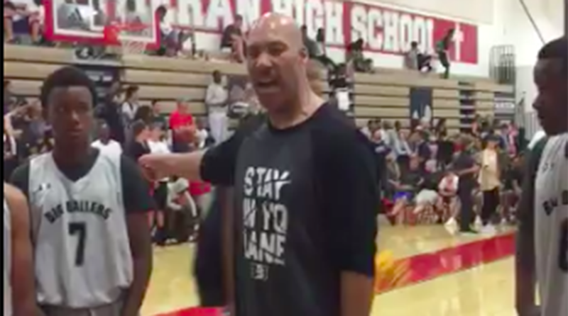 LaVar Ball's AAU Team Gets Blown Out By 52 Points