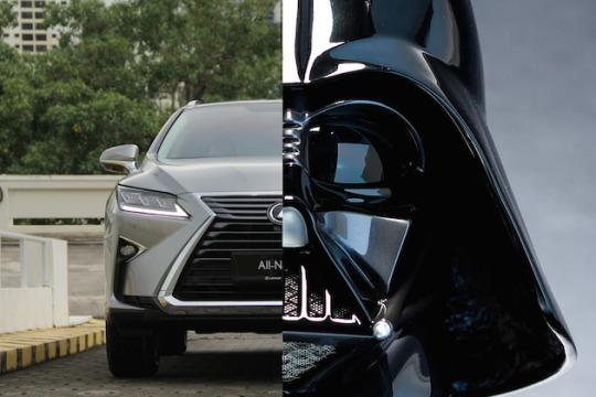 lexus rx turbo darth vader s wheels. Black Bedroom Furniture Sets. Home Design Ideas