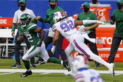 Jets WR Jamison Crowder out vs. 49ers with hamstring injury