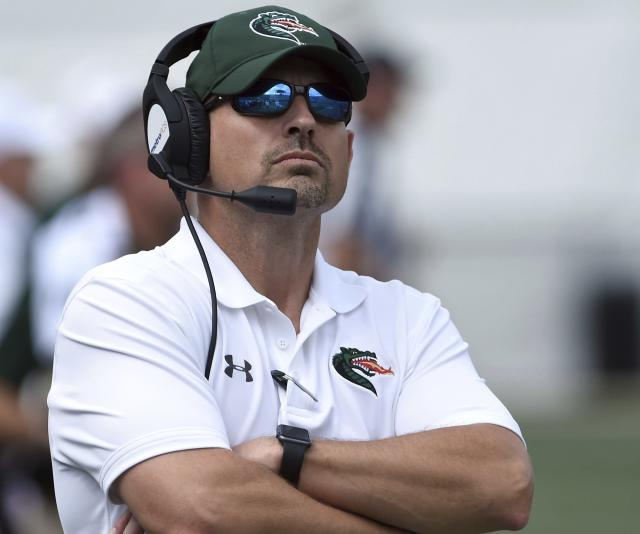 Bill Clark can lead UAB to its first-ever eight-win season at the FBS level. (Mark Almond/AL.com via AP)