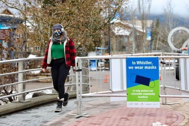 The Resort Municipality of Whistler has seen a growing number of COVID-19 cases since Jan. 1.  (Tina Lovgreen/CBC - image credit)
