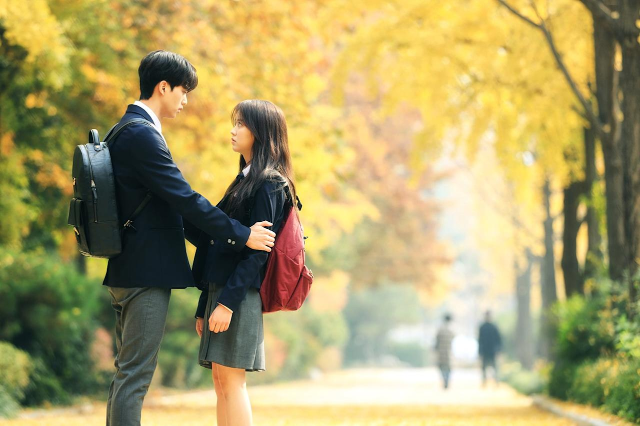 """<p>A South Korean romance television series, <strong>Love Alarm</strong> is about an app that helps users find love by sounding if someone within a 10-meter radius has romantic feelings for them.</p> <p><a href=""""https://www.netflix.com/title/80168068"""" target=""""_blank"""" class=""""ga-track"""" data-ga-category=""""Related"""" data-ga-label=""""https://www.netflix.com/title/80168068"""" data-ga-action=""""In-Line Links"""">Watch <strong>Love Alarm</strong> now</a>.</p>"""