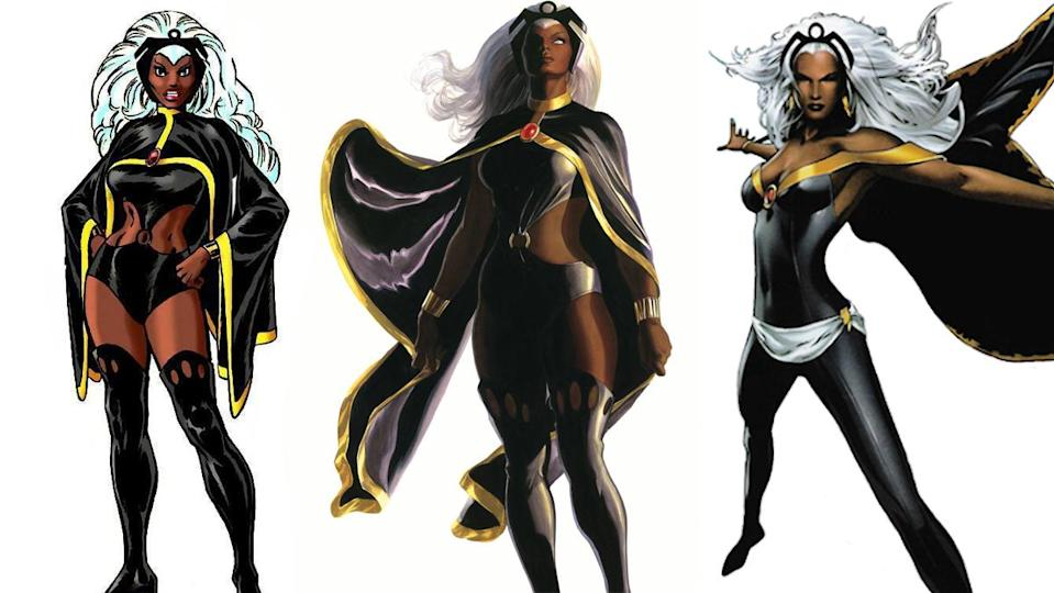 Dave Cockrum's original costume for Storm remains her most regal.