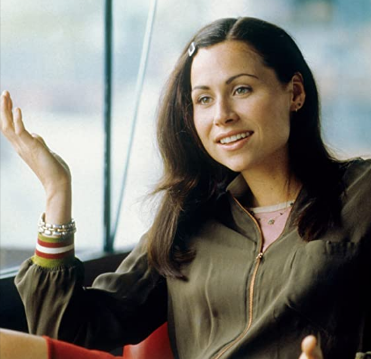 <p>Although we don't fully understand side clips (do they even hold any hair back?), they were a big deal in the '90s. Minnie Driver proved this by flawlessly sporting one in <em>Good Will Hunting</em>. </p>