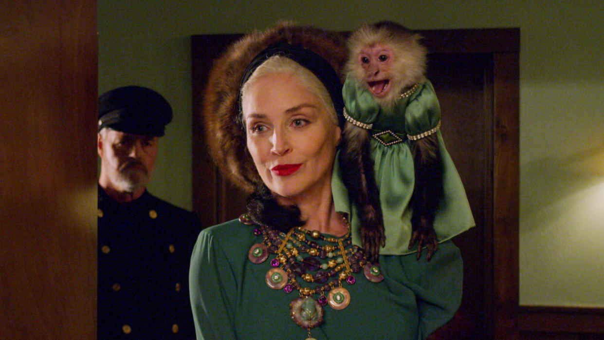 Sharon Stone as Lenore Osgood in 'Ratched'. (Credit: Netflix)
