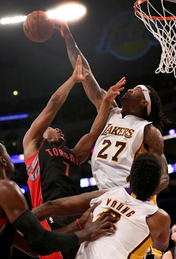 Jordan Hill has value in the post. (Getty)