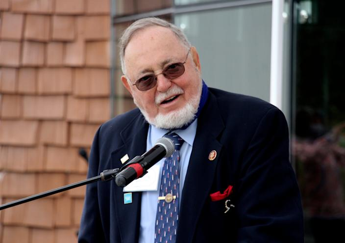 """U.S. Rep. Don Young, R-Alaska, sponsored an earmark that became known as the """"bridge to nowhere."""""""