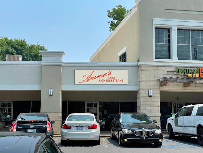 Amma's Pizza & Cheesesteaks will open in the Kings Pointe Shopping Center in Charlotte.